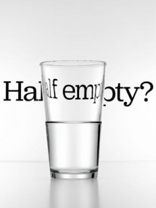 glass half full?